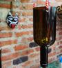 Kavi Recycled Hanging Wine Bottle Planter