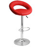 Kayam Bar Chair in Red Colour by The Furniture Store