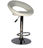Kayam Bar Chair in White Colour by The Furniture Store