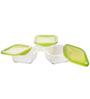 Luminarc Keep 'N' Box Green 360 Ml Storage Container - Set of 3