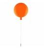 Kenshodesigners Orange Fiber Flush Mounted Light