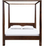 Oakland Poster Bed In Provincial Teak Finish by Woodsworth