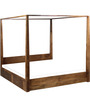Freemont King Size Poster Bed in Provincial Teak Finish by Woodsworth