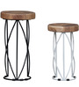 Drosen Set of Tables in Natural Sheesham Finish by Bohemiana