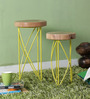 Drosen Hand Painted Set of Tables by Bohemiana