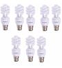 Khaitan Cool White 11W Spiral CFL Bulbs - Set of 8