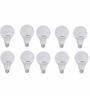 Khaitan Leon Zolta Cool White 12W Led Bulbs - Set of 10