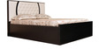 King Bed with Storage in Ivory Black Colour by Parin
