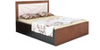 King Bed with Storage in Light Brown Colour by Parin