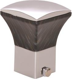 Kipwel Black Steel 3 x 2 Inch Classy Curtain Bracket - Set of 2