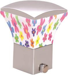 Kipwel Multicolour Steel 3 x 2 Inch Floral Curtain Bracket - Set of 2