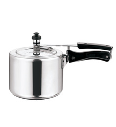 Kitchen Essentials Induction Base Aluminium Pressure Cooker - 3 Litre