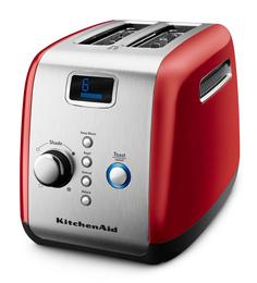 KitchenAid 5KMT223GER Empire Red 2 Slice Pop-Up Toaster