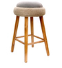 Kick The Tyre Bar Stool by Desi Jugaad
