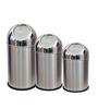 King International 4 L Push Dustbin - Set of 3