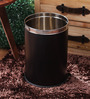 King International Black 5 L Open Dustbin