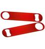 King International Stainless Steel Red Bottle Opener - Set of 2