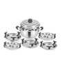 Kitchen Essentials Stainless Steel Mini Kadai (5 Plates)