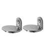 Klaxon Armano Chrome Stainless Steel Soap Dish Set