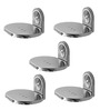 Klaxon Armano Chrome Stainless Steel Soap Dish - Set of 5