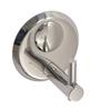 Klaxon Maple Chrome Finish Stainless Steel 3.9 x 2.8 x 2 Inch Robe Hook