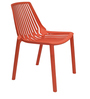 Knight Stackable Chair in Orange Colour by Starshine