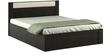 Kosmo Delta Queen Bed with Box Storage by Spacewood