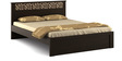 Kosmo Weave Queen Bed in Vermount Colour by Spacewood
