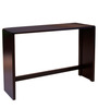Koba Large Size Console Table in Wenge Colour by Forzza
