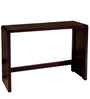 Koba Small Size Console Table in Wenge Colour by Forzza