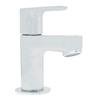 Kohler July Silver Stainless Steel Pillar Lavatory Faucet
