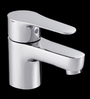 Kohler July Silver Stainless Steel Single Control Lavatory Faucet