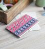 Kolorobia on the Go Metal Enchanting Ikat Visiting Card Holder