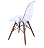 Komako Accent Chair (Set of 2) in Clear Colour by Mintwud
