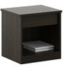 Kosmo Duet Bedside Table in Fumed Oak Finish by Spacewood