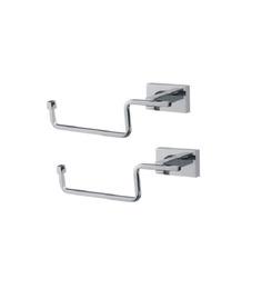 KRM Decor Brass Toilet Paper Holder Set