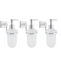 KRM Decor Topaz  Soap Dispenser - Set Of 3