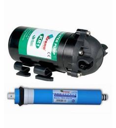 Krona RO Components Combo (Pump 100 Gpd+ Krona RO Membrane 75 Gpd)