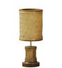 Kraftinn Brown Wood Aloha Table Lamp