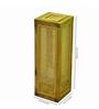 Kraftinn Estelle Wooden Brown Bamboo Table Lamp