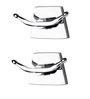 KRM Decor Platinum Brass Clothes Hook - Set of 2