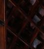 Norah Bar Cabinet in Provincial Teak Finish by Bohemiana