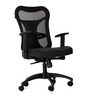 Kruz Series A Medium Back Office Chair in Black colour by BlueBell Ergonomics