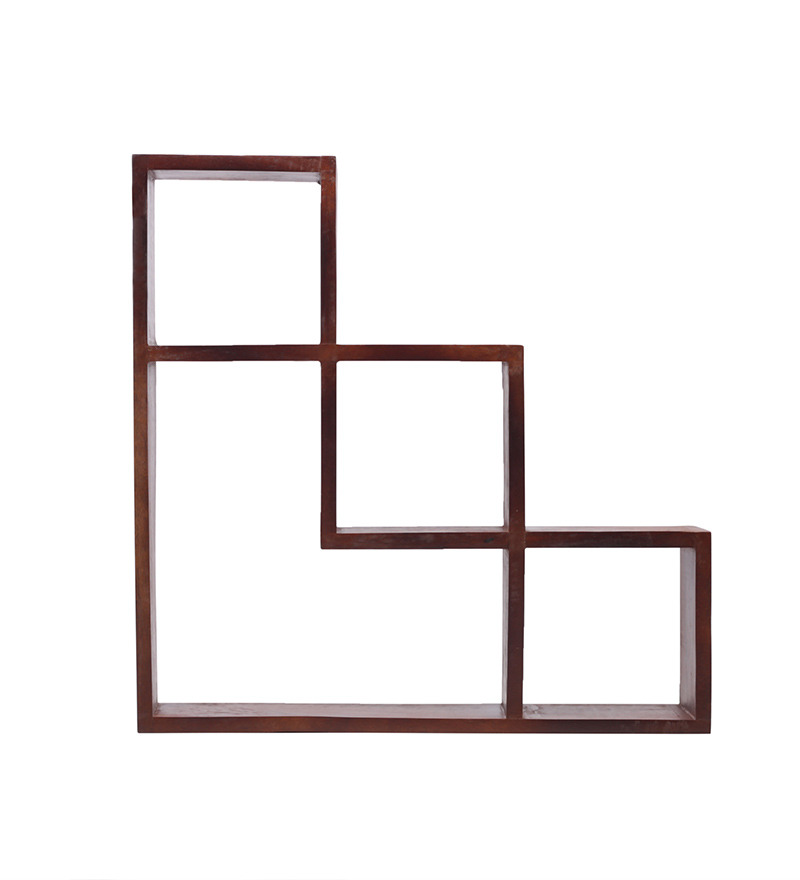 Buy L Shaped Wall Shelf Online Contemporary Wall