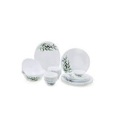 Laopala Diva Lustrous Leaves Dinnet Set - 35 Pcs