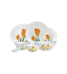 Laopala Diva Tulip Passion Dinner Set - 27 Pcs