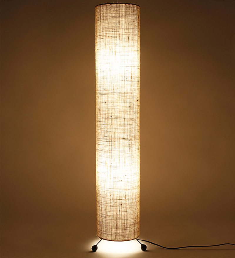 Buy abrigos floor lamp in cream by casacraft online for Buy floor lamp online