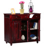 Cashmere Solid Wood Cabinet in Passion Mahogany Finish by Woodsworth