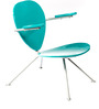 La-Simone Chair in Blue Colour by Tube Style