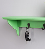 La Stella Green Wood & MDF Floating Shelf